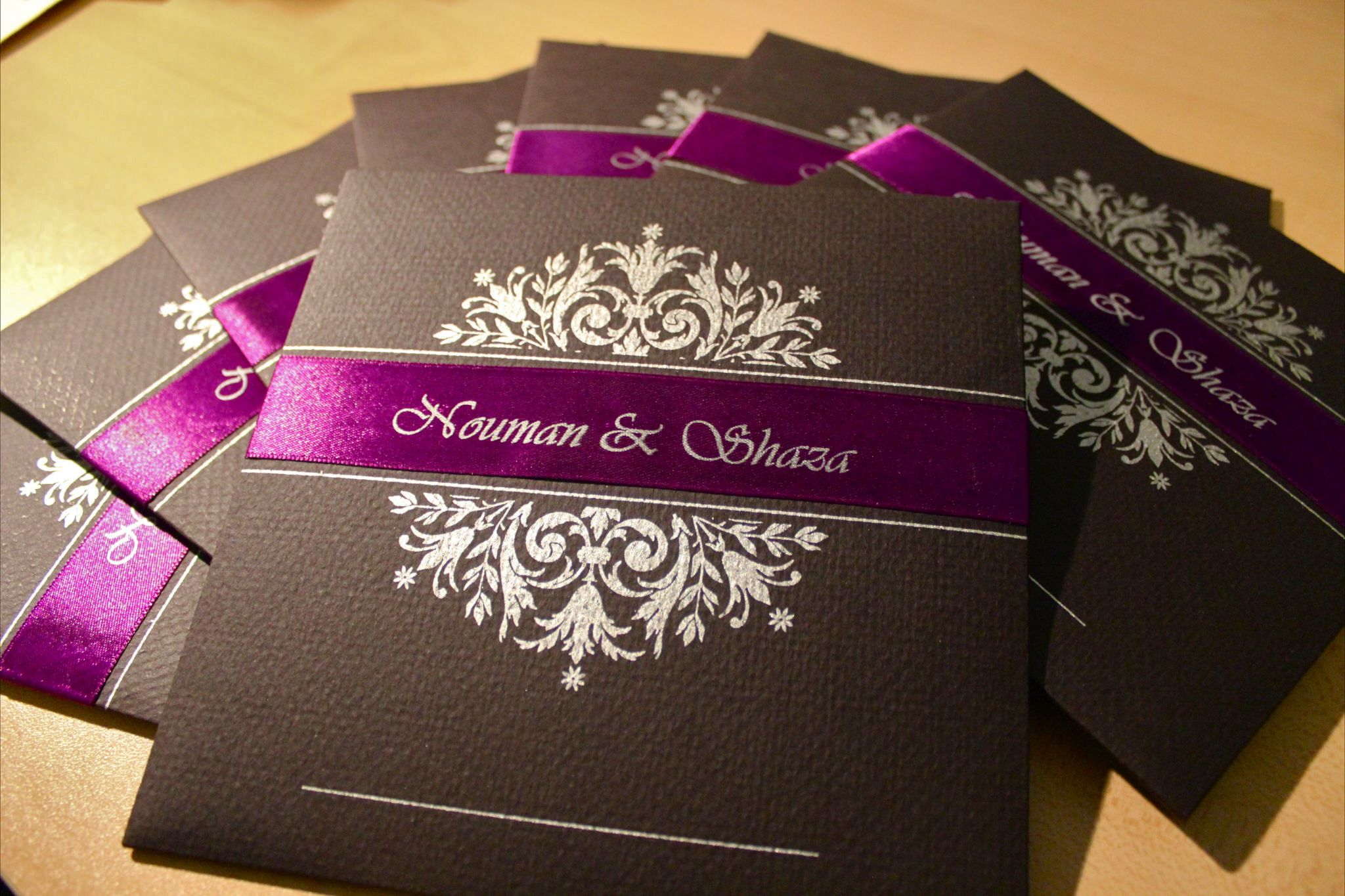 How to scrapbook wedding cards - Like Them