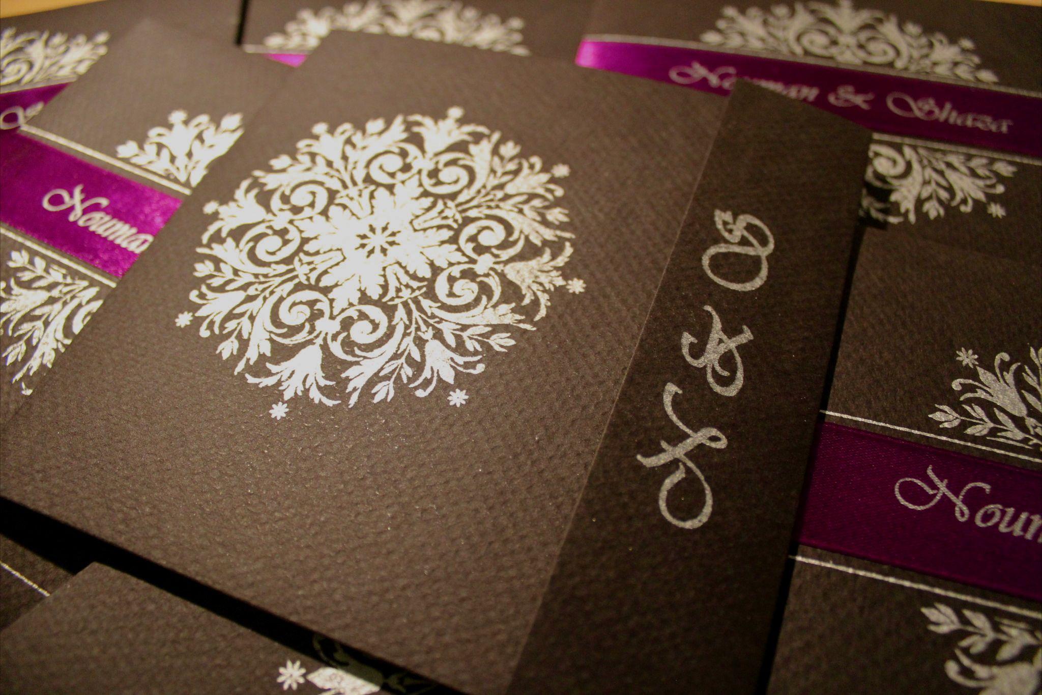 Wedding Invitation | Shaza\'s Scrapbook